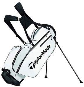white golf bag