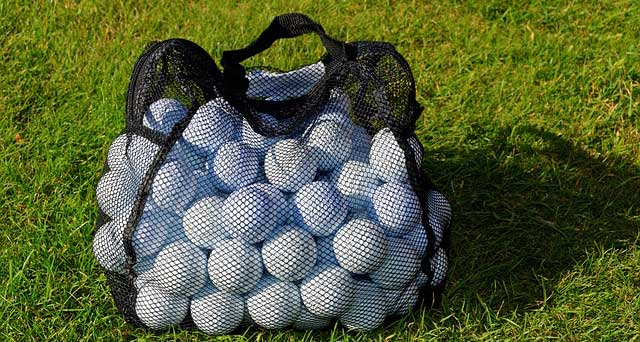 golf ball packet quantity
