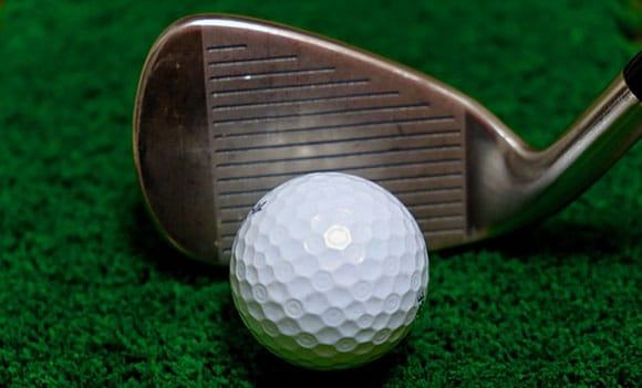 Re-grooved golf club