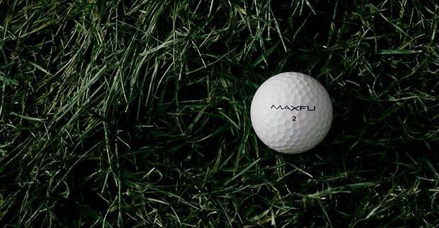 3-piece golf ball on grass