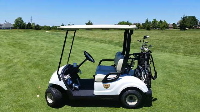 how to start a golf cart