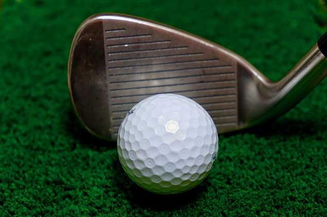 5 iron golf club