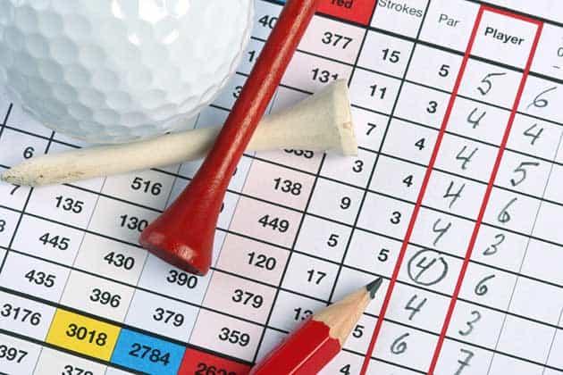 Percentage of golfers that break 70, 80 & 90