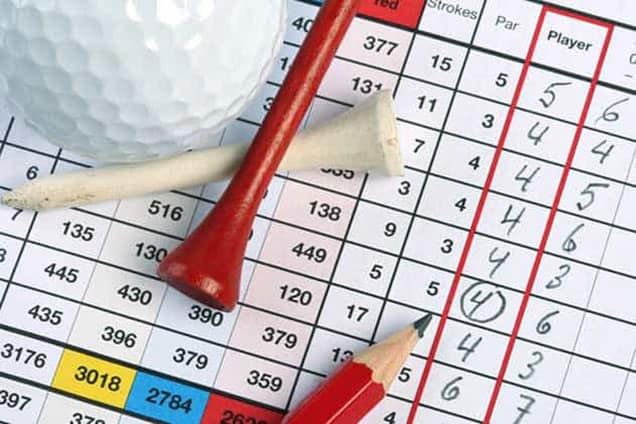 good score for 9 holes of golf
