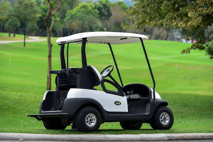 Towing a EZGO Golf Cart