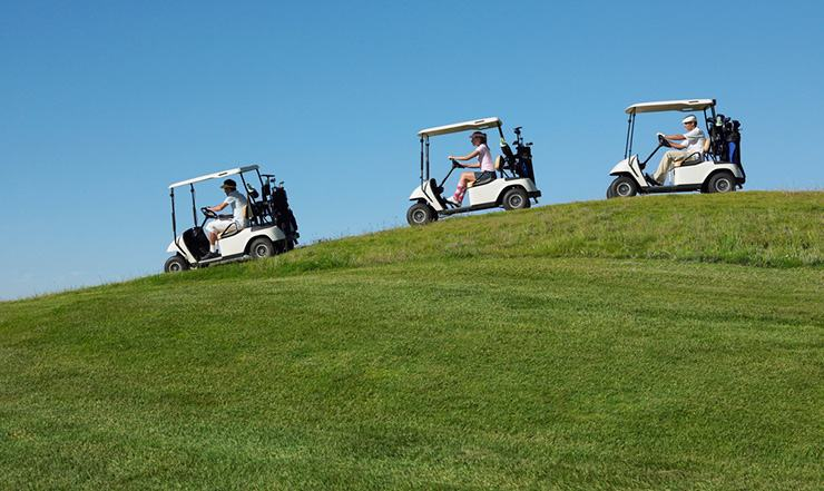 EZGO golf carts with loose steering