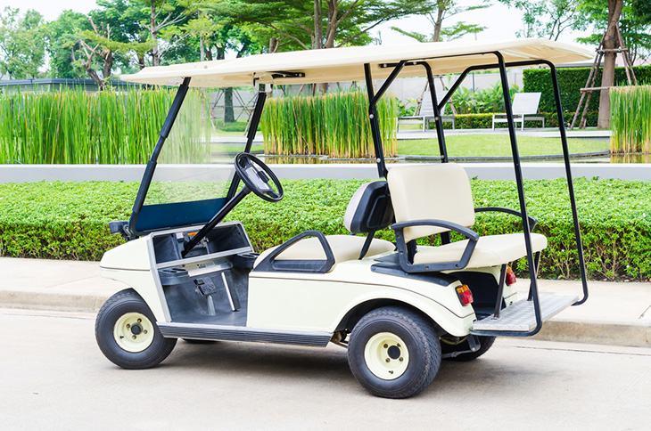 EZGO golf cart clicks but won't move