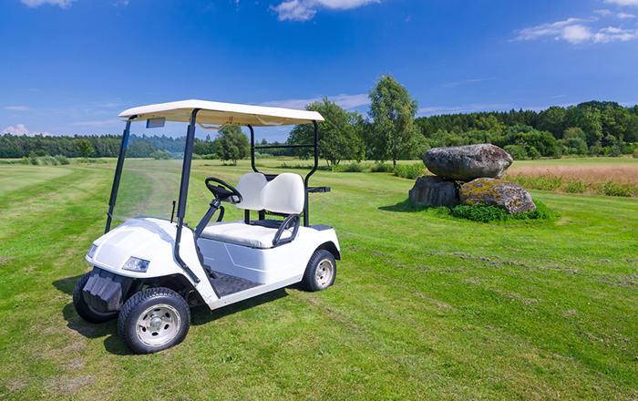 Adjusting drive belt on Club Car Golf Cart