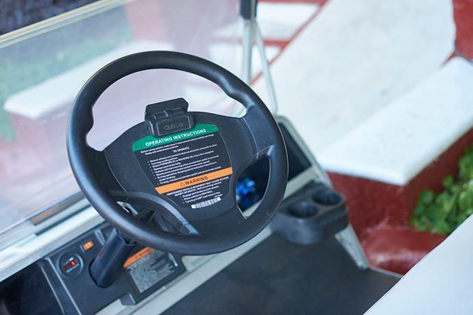 Club Car golf cart steering noise