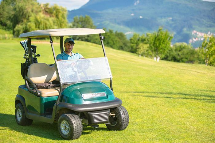 EZGO golf cart keeps beeping
