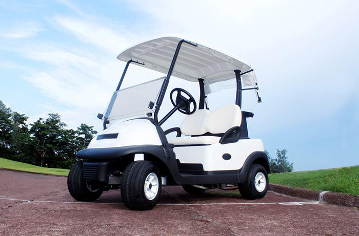 Golf cart camber adjustment