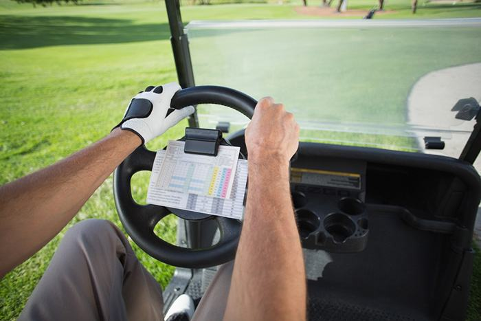 Loose steering wheel on Yamaha golf cart