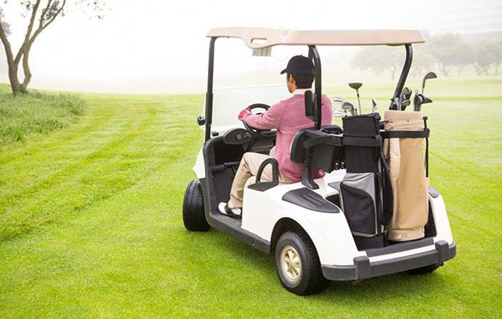 EZGO golf cart stops suddenly