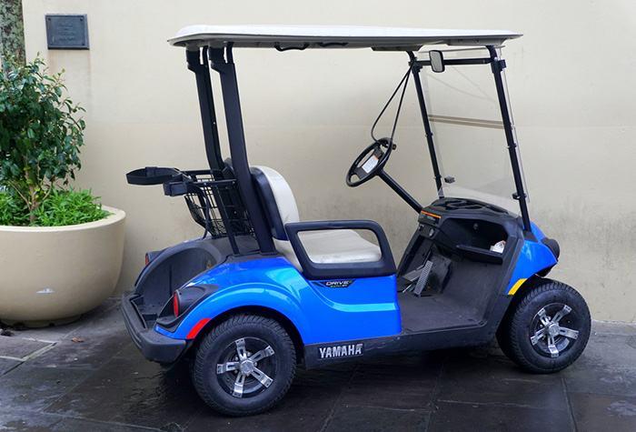 EZGO golf cart charger lights flashing