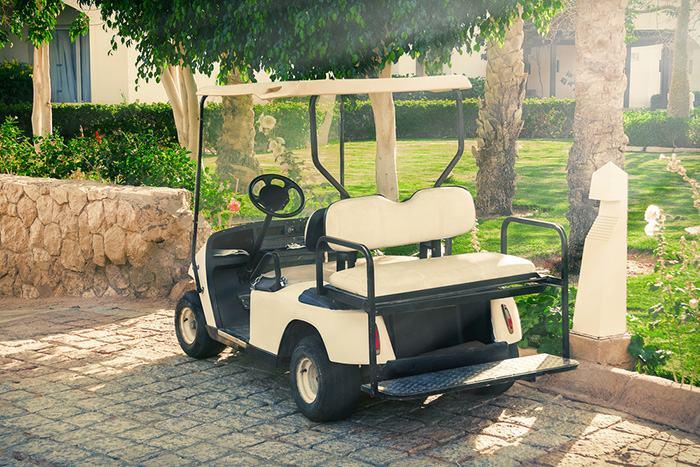 Club Car golf cart brake lights not working