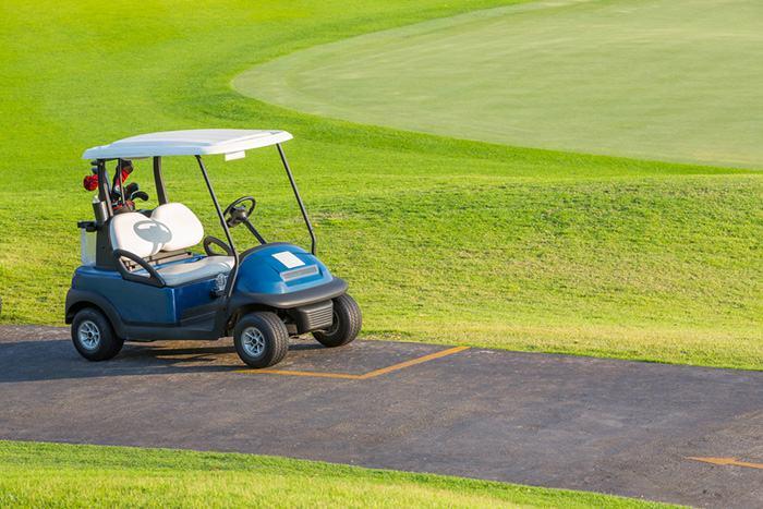 EZGO golf cart weight