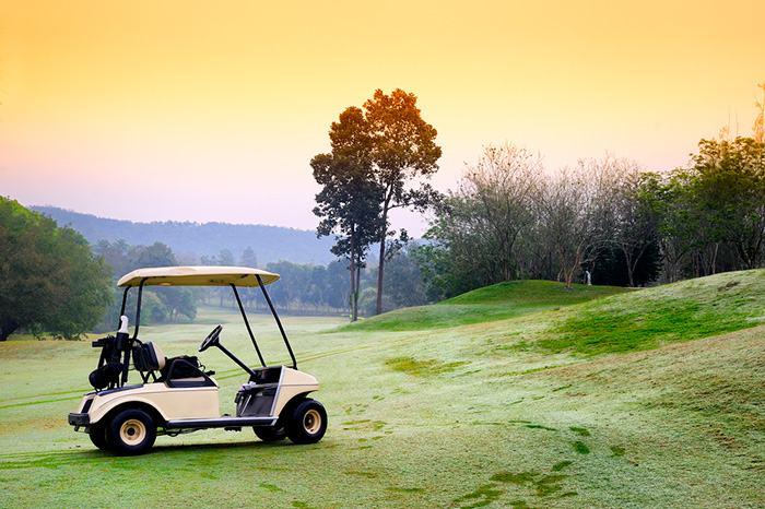 Testing EZGO golf cart micro switch