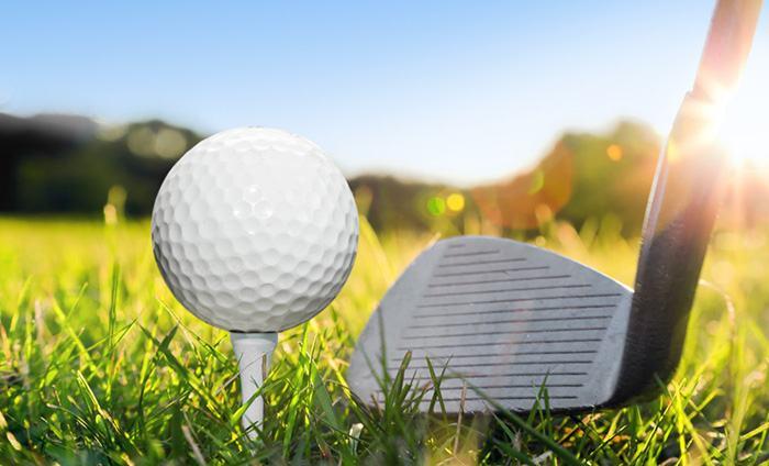 8 iron golf club