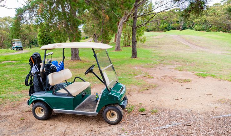 EZGO golf cart keeps stripping the hub
