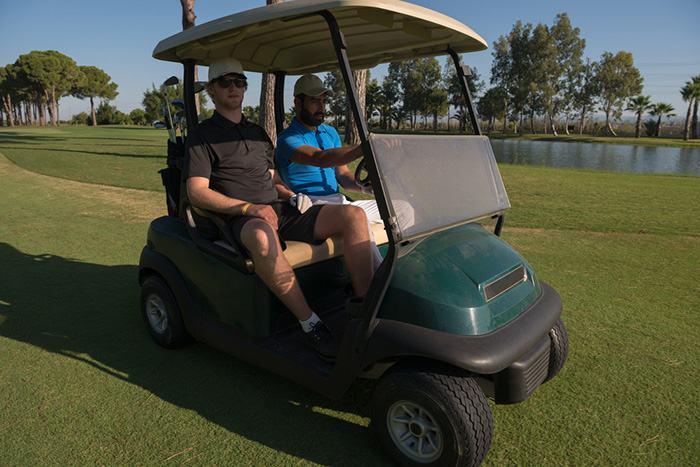 Yamaha golf cart keeps running